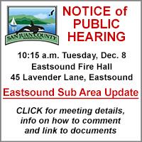 San Juan County Public Hearing December 8