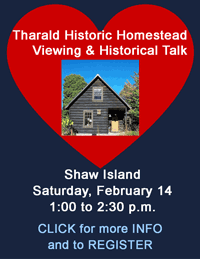 Tharald Historic Homestead viewing and talk