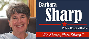Vote for Barbara Sharp for Hospital District Board