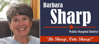 Vote for Barbara Sharp for San Juan County Hospital District