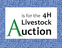 A is for Auction: Countdown to the 2019 San Juan County Fair