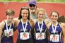 UPDATED: Friday Harbor girls relay team places fourth at state meet
