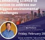 Feb. 28: Learn about UW EarthLab; reserve tickets by Feb. 24