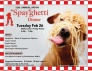 Feb. 26: 12th Annual 'Spay-Ghetti' Dinner in Friday Harbor