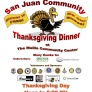 Nov. 22: Community Thanksgiving Dinner in Friday Harbor