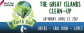 April 22: Great Islands Clean-up