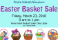 March 23: Easter Basket Sale at PIMC