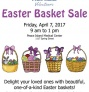 April 7: Easter Basket Sale at PIMC
