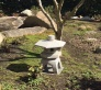 Oki-gata lantern donated to PIMC cancer garden